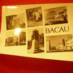 Ilustrata Bacau - cu 6  Vederi circulat 1961