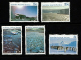 TERITORIUL ANCTARCTIC AUSTRALIAN AAT -1979-1984 NATURA ,CORABII NAVE TIMBRE MNH