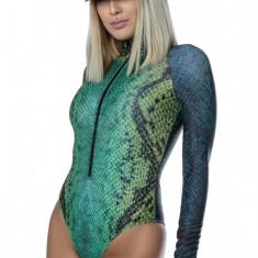 Costum Scuba Snake Green