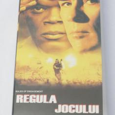 Caseta video VHS originala film tradus Ro - Regula Jocului