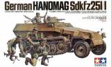 + Kit Tamiya 35020 - German Hanomag SDKFZ 251/1 +, Zvezda
