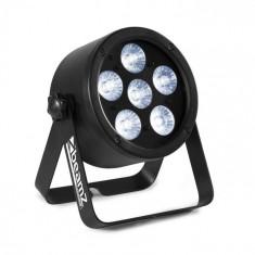 Beamz Professional BAC300, ProPar, 6x 8W, 4in1, LED, RGBW, dimmer, telecomandă