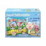Puzzle Noriel - Jocul hainutelor cu animale vesele, 36 piese