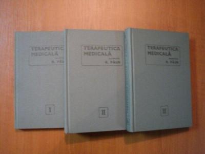 TERAPEUTICA MEDICALA VOL 1+2+3 R.PAUN foto