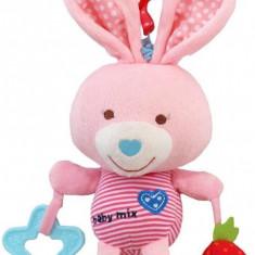 Jucarie muzicala din plus Pink Rabbit