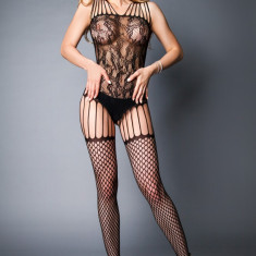 Bodystocking with large mesh