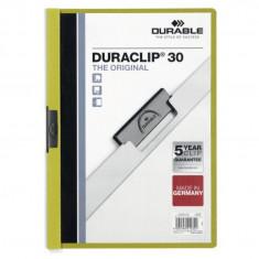 Dosar plastic Duraclip Original 30 Durable verde