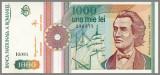ROMANIA 1000 LEI 1991 - (A-UNC/UNC)
