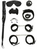 Set BDSM 8 Piese Negru cu Blanita Guilty Toys