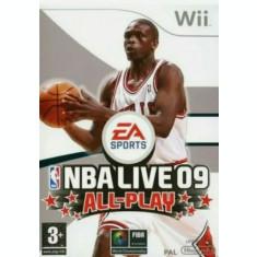 Joc Nintendo Wii NBA Live 09 All-Play - NTSC UC