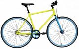 "Bicicleta 28"" DHS Fixie/Spd 2896 (2017) Galben/Albastru 46cm"