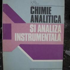CHIMIE ANALITICA SI ANALIZA INSTRUMENTALA - C. LUCA