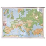 Harta fizica a Europei |