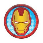 Suport stand Popsockets ® Original, Iron Man Icon, Colectia Marvel