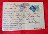 Corespondenta juridica prin Carte Postala timbrata, Bistrita 1937. Carol II.