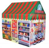 Cort de Joaca pentru Copii tip Magazin Multicolor Supermarket, Ecotoys
