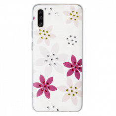 Husa Fashion Samsung Galaxy A70 Flower