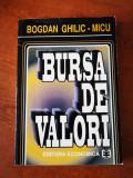 Bursa de valori, Bogdan Micu