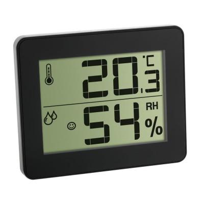 Termometru si Higrometru digital de camera extra-plat negru TFA 30.5027.01 Children SafetyCare foto