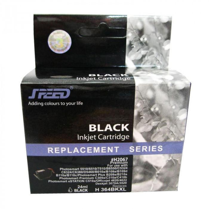 Cartus cerneala compatibil cu HP 364XL black,CN684EE