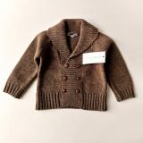 Cumpara ieftin Vesta tip cardigan tricotata caramizie pentru baietei, Spania