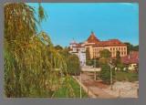 "CPIB 17263 CARTE POSTALA - ORASTIE. LICEUL ""AUREL VLAICU"", Circulata, Fotografie"