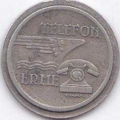 Jeton telefon Ungaria - Magyar Posta Telefon Erme - anii '60