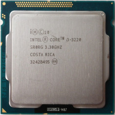 Procesor Intel Ivy Bridge, Core i3 3220 3.3GHz-generatia 3 socket 1155, Intel Core i3, 4
