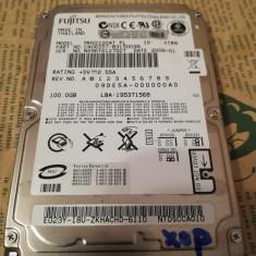 Hard disk 2.5 laptop IDE ATA 100Gb Fujitsu MHV2100AT 5400 rot