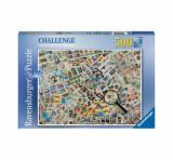 Cumpara ieftin Puzzle Ravensburger Timbre, 500 piese