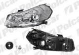 Far Fiat Sedici (FY/GY) 03.2006-2013, Suzuki SX4 05.2006-05.2013; TYC partea Dreapta, tip bec H4, reglaj electric, pentru motoras reglare cu pin (fara