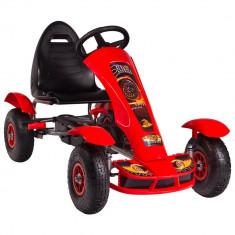 Kart cu pedale F618 Air rosu Kidscare for Your BabyKids