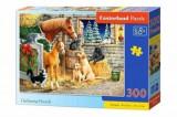 Cumpara ieftin Puzzle Prieteni necuvantatori, 300 piese, castorland