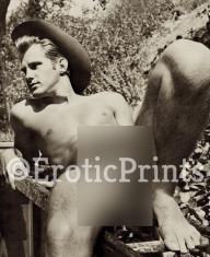 Fotografie Ultra HD dupa ilustrata veche barbat nud gay A4 21 cm x 30 cm foto