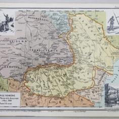 TARILE ROMANE dupa Pacea de la Bucuresti, 7 Mai 1918