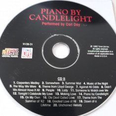 PIANO BY CANDLELIGHT - PERFORMED BY CARL DOY   - CD