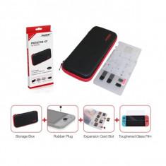 Kit/set protectie DOBE 4 in 1 pentru Nintendo Switch