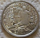 Moneda 10 LIRE - SAN MARINO, anul 1973 *cod 5251 UNC - HELCULE, Europa, Aluminiu