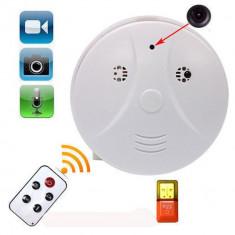 Detector de fum camera spion HD