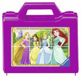 Puzzle in cutie Printesele Disney, 6 piese, Ravensburger