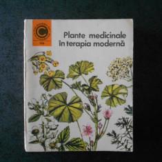 MARIA ALEXANDRIU PEIULESCU - PLANTE MEDICINALE IN TERAPIA MODERNA