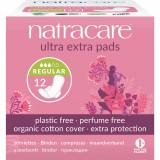 Absorbante Ultra Extra de noapte (3 picaturi) - normal, Natracare
