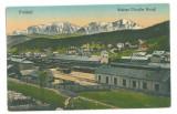 4903 - PREDEAL, Railway Station, Romania - old postcard - unused - 1930, Necirculata, Printata
