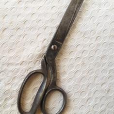 Foarfeca veche croitorie, foarfeca englezeasca Russel Shefield colectie - decor