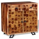Servantă din lemn masiv de sheesham, 65 x 35 x 65 cm