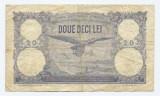 Romania 20 lei 25 martie 1920 F+