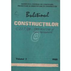 Buletinul constructiilor, vol. 3 (1988)