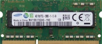 Memorii Laptop Samsung 4GB DDR3 PC3L-12800S 1600Mhz 1.35V M471B5173QH0 foto