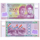 = PARAGUAY - 2000 GUARANIES – 2011 - POLYMER - UNC =