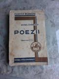 POEZII - MIHAIL EMINESCU TIPARITURA A 4-A